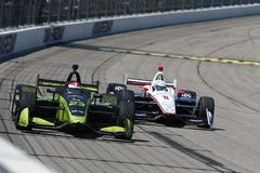 IndyCar: Milho 300 de Iowa do 8 de julho Imagens de Stock