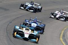 IndyCar: Milho 300 de Iowa do 8 de julho Imagens de Stock Royalty Free