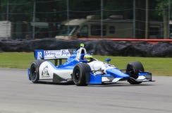 Indycar po ścigać się Zdjęcie Royalty Free