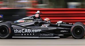 Indycar-Reihenrennen Lizenzfreie Stockfotografie