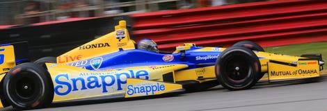 Indycar-Reihenrennen Stockbild