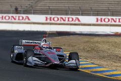 IndyCar: 14 september Indycar-Grand Prix van Sonoma royalty-vrije stock afbeelding