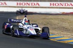 IndyCar: 14 september Indycar-Grand Prix van Sonoma royalty-vrije stock afbeeldingen