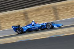 IndyCar: 14 september Indycar-Grand Prix van Sonoma stock afbeelding