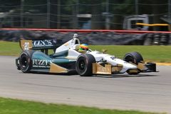 Indycar Series race. Indycar Series driver Josef Newgarden drives the Honda powered racer Royalty Free Stock Image