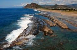 Indyczego morza śródziemnomorskiego naturalny basen Obraz Stock