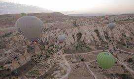 Indyczy gorące powietrze balon Fotografia Stock