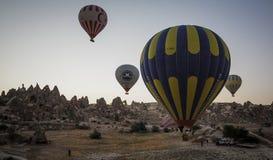 Indyczy gorące powietrze balon Zdjęcie Stock