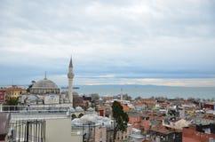 Indyczy meczet, Dziejowy meczet, meczet w Turcja, meczet w Istanbuł obraz stock