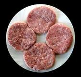 Indyczy Mięsny Hamburger Zdjęcie Stock