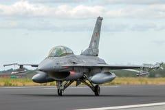 Indyczy myśliwiec f-16 Zdjęcie Royalty Free