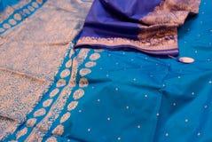 indyjscy jedwabie Zdjęcie Royalty Free