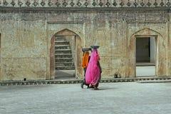 indyjscy robotnicy Zdjęcie Stock