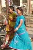 indyjscy womans Fotografia Royalty Free