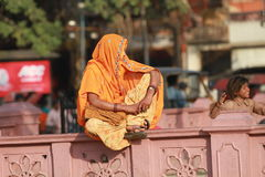 indyjska kobieta Zdjęcie Stock