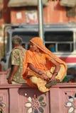 indyjska kobieta Zdjęcia Royalty Free