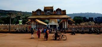 indyjska południowej do świątyni obraz stock