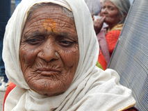 indyjska portret kobiety Obraz Stock