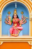 indyjska serii statuy świątynia Zdjęcie Royalty Free