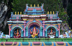 indyjska starożytnej świątyni Zdjęcia Royalty Free