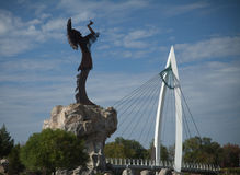 indyjska statua Obrazy Royalty Free