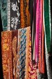 indyjska tkanina Obrazy Royalty Free