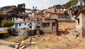 indyjska wioska Zdjęcia Royalty Free