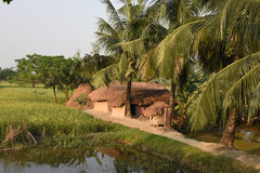 indyjska wioska fotografia stock