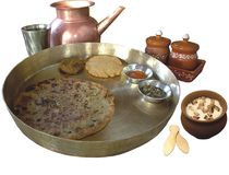 indyjski żywności tradycyjne Fotografia Stock
