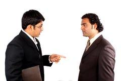 indyjski biznesmena spotkanie Zdjęcie Stock