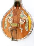 indyjski etniczne antyczny muzyka veena Obrazy Stock