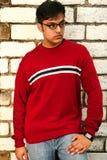 indyjski mody człowieka otwartym chlew Obraz Stock