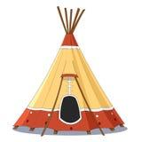 indyjski namiot Fotografia Stock