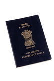 indyjski paszport obraz stock