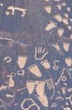 indyjski petroglif Fotografia Stock