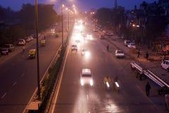 indyjski ruch drogowy Obrazy Stock