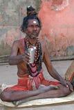 indyjski sadhu Zdjęcia Royalty Free