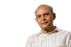 indyjski senior fotografia royalty free
