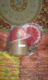 indyjski tradycyjny turban dla nowego męża Zdjęcie Royalty Free