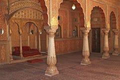 indyjski wewnętrznego pałacu maharadży s Zdjęcia Stock