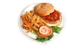 indyk hamburgera Zdjęcie Stock