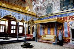 indyk topkapi istanbul pałacu zdjęcia royalty free
