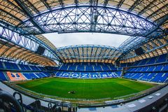 INEA stadion 免版税库存图片