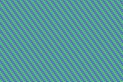 Ineengestrengeld net - viooltje en munt groen bleek weefsel Royalty-vrije Stock Afbeeldingen