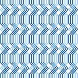 Ineinander greifenmuster. Nahtlose geometrische Beschaffenheit. Stockfoto