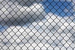 Ineinander greifenzaun-Auszugshintergrund Lizenzfreies Stockbild