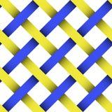 Ineinandergegriffene Farbenzeichenketten Stockfotografie