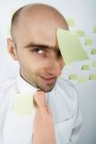 Inept Businessman Royalty Free Stock Photography