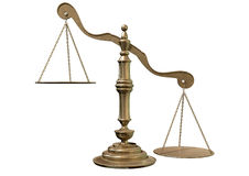 Inequality Scales Stock Photography