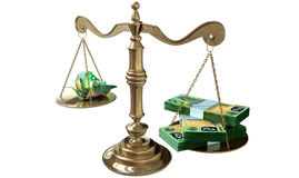 Inequality Scales Of Justice Income Gap Australia Stock Photos